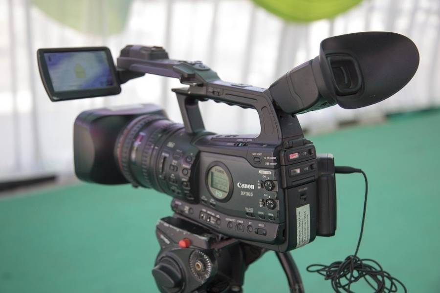 Videodreh Kamera 900x600