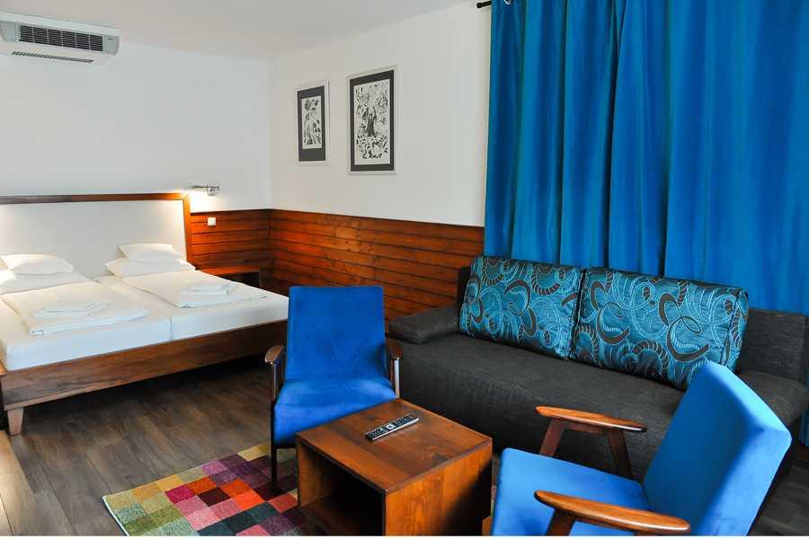 Zimmer 1 Hotel 4