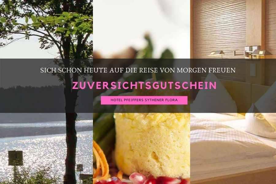 Zuversichtsgutschein Hotel Pfeiffers Sythener Flor